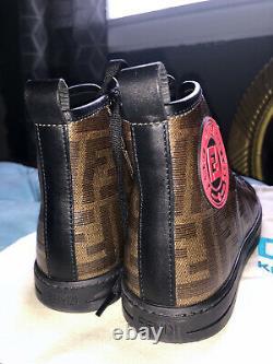 Fendi Logo Kids Shoes