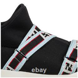 Fendi sneakers baby JMR174A3GEF13C4 Black logo detail shoes trainers gym