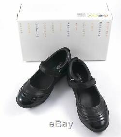 GEOX Junior Kids Girls Shoes BLACK Euro Size 32 US Size 1