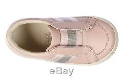 GUCCI GIRLS SHOES CHILD LEATHER SNEAKERS NEW MG PINK 793