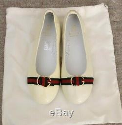 GUCCI Ivory Dress Shoes (Kids)