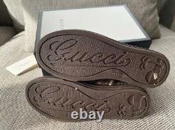Genuine Gucci boys or girls GG Trainers Shoes (size eu 34 / uk 2.)