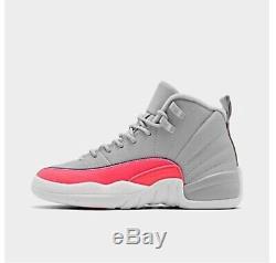 Girls' Big Kids' Air Jordan Retro 12 Basketball Shoes