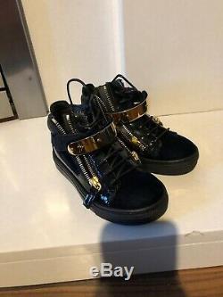 Giuseppe Zanotti Girls Trainers Size 10 Rrp £365 Flannels Gucci Fendi D & G Kids