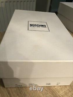 Gorgeous Moschino Teen/adult Ballerinas Shoes Size Eu36, Uk 3. Rrp £160