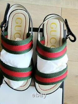 Gucci Authentic Girl's Toddler Sandal Shoes Size 29 used with box