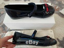 Gucci BLUE PATENT LEATHER KIDS SIZE 32EU / 13-13.5 US Kids Toddler SHOE