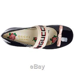 Gucci Girls Ballet Flats Ballerinas Child Blue Bf6