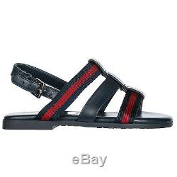 Gucci Girls Sandals Baby Child Leather New Blue 0e7