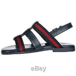 Gucci Girls Sandals Baby Child Leather New Blue 4da