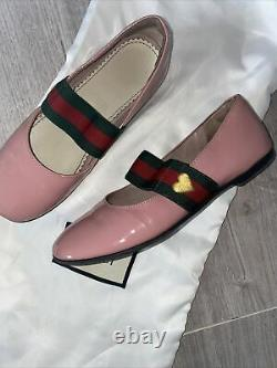 Gucci Girls Shoes Size 30