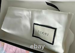 Gucci Italy Kids Bnib Gorgeous Toddler Girls Shoes Rare Size 27/9c Sold Out