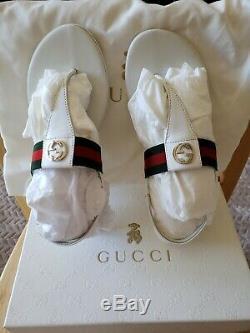 Gucci KIDS SANDAL TODDLER SIZE 32/ 13-13.5 Girl