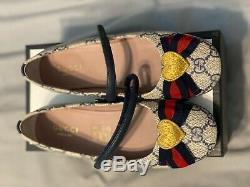 Gucci Kids Baby Erin Ballerina Shoes