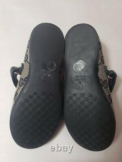 Gucci Kids Ballerina Girls Shoes SZ 25 / 9 US
