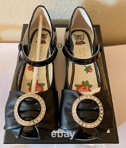 Gucci Kids Leather Upper And Rubber Sole Sho Shoes Size26(US10)