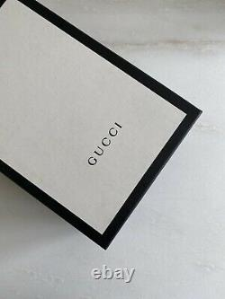 Gucci Kids New Ace Sneakers Shoes in Black size 30 US 12.5 Kids $335