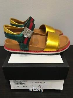 Gucci Sandals For Kids Girls Size 32 Real & Authentic (Very Rare)