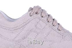 HOGAN GIRLS SHOES CHILD LEATHER SNEAKERS NEW INTERACTIVE BEIGE 7BB