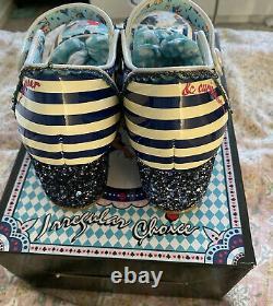 Irregular Choice X Disney Alice In Wonderland Tick Tock Shoes EU 40 Size UK 7