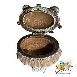 Jay Strongwater Gorgeous Ballet Slippers Trinket Box Swarovski Brand New Box
