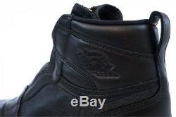 Jordan Air 1 High Zip Big Kids Shoes WMNS 6.5, GIRLS 5Y (BLACK/RED/WHITE)