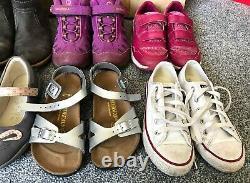 Joules Clarks Merrell Birkenstock Converse Ugg Girls Shoe Bundle Size Uk12