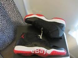 Kid Shoes Nike Air Jordan 11 Bred High GS Boys Girls