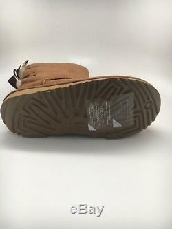 Kids Girls Women Boot Ugg Bailey Bow II Chestnut Water Resistant 1017394k Size 4