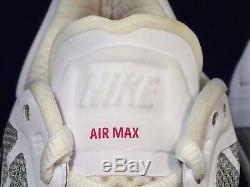 Kids Nike Air Max 2011 White Black Pink Shoes 431875 102 Kids 6.5y Womens 8