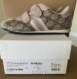 Kids gucci shoes Girls Size Euro 32, Pink