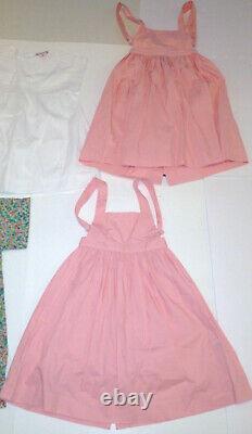 Lot Of 8 BONPOINT Girls Dresses Size 3&4 Sandal Shoes Size 26&28 Retail$2000 EUC