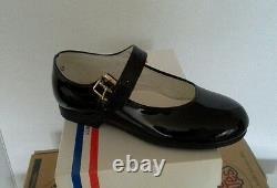 Lot of New Footmates Jana-Mary Jane Black Patent Girls Shoes various sizes. 8prs