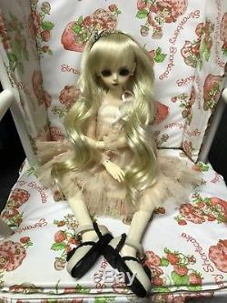 Luts BJD 1/4 Girl Kid Delf Doll Articulated Jointed With Box Wig Dress Shoes +