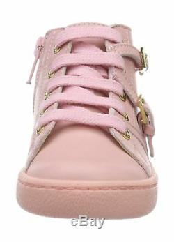 Moschino 25914, Girls Low-Top Sneakers Pink (Rosa 9101) 10 UK Child