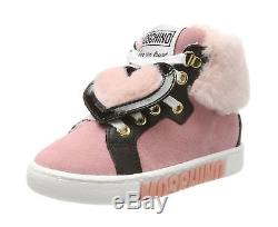 Moschino Baby Girls 26072 Trainers pink (pink) 7 UK Child