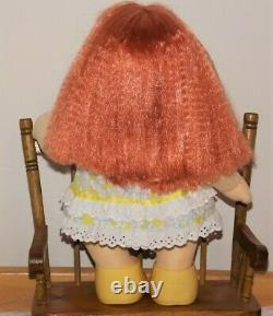 My Child Doll EURO Girl Red Crimp Hair sold undressed no shoes