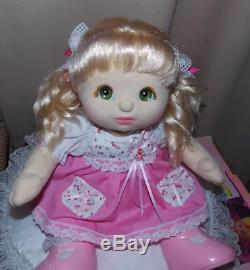 My Child Doll lovely Euro Ringlet pony tails or D/R Girl fully dressed no shoes