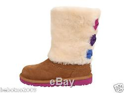 New Kids Girls Women Ugg Australia Malena Boot Chestnut Suede 1005397k Original