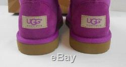 NEW NIB UGG Boots Girls Little Kids size sz 3 Cactus Flower Purple Short shoes