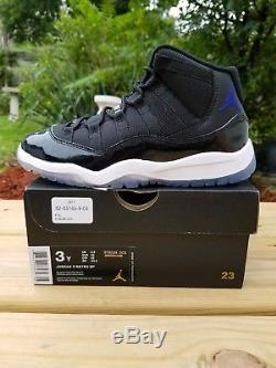 NEW Nike Air Jordan Retro 11 Space Jam SIZE 3y Kids boys girls Concord OG XI 2 4