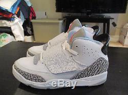 NEW Nike Air Jordan Son Of Mars Girls Boys Size 3Y Youth Kids White Black 3 Y