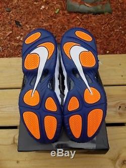 NEW Nike Little Posite Pro SIZE 7y Foamposite One kids boys girls 6.5 7 gym blue