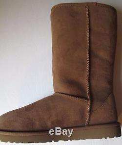 NEW UGG Kids Girl's Classic Tall (Bid Kid) Chestnut Boot 6 M Free Shipping