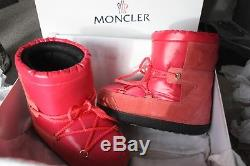 NEW withBox MONCLER'New Fanny' moon boots Sz 32-34 Kids Girl PINK