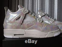 Nike Air Jordan 4 IV Retro Gs Gg Bg Kid Size Girls Pearl 742639-045 5.5y