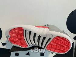 NIKE Air Jordan Retro 12 XII Wolf Grey Racer Pink GS PS TD Baby Kids Girl Women