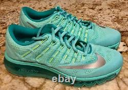 NIKE Air Max 2016 360 Hyper Turquoise Running Training Shoes NEW Youth Girls 6.5