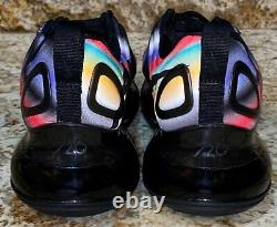 NIKE Air Max 720 Game Change Black Crimson Gold Shoes NEW Youth Boys Girls 5.5