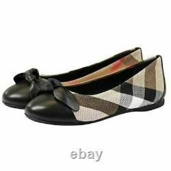 NWT Burberry Girl Plaid Shoe Size 29 & 32